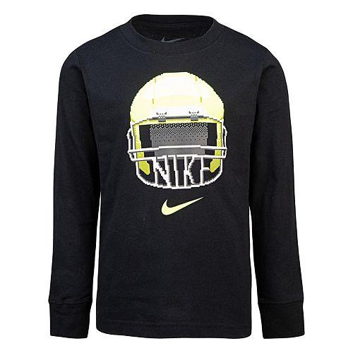 Boys 4-7 Nike Long-Sleeve Football Graphic T-Shirt