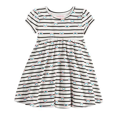 968ba71a Toddler Girl Jumping Beans® Print Babydoll Dress