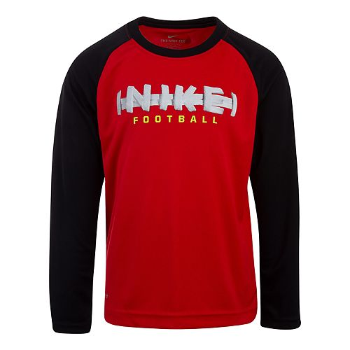 Boys 4-7 Nike Dri-FIT Football Raglan Tee