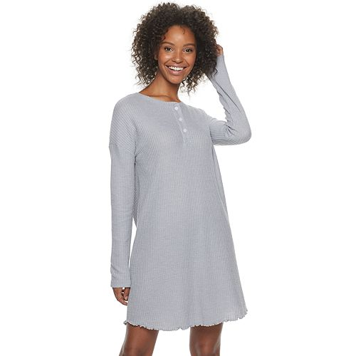 Women's SONOMA Goods for Life® Waffle Sleep Dress