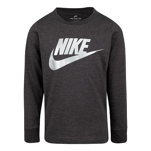 Boys' 4-7 Nike Long Sleeve Graphic T-Shirt