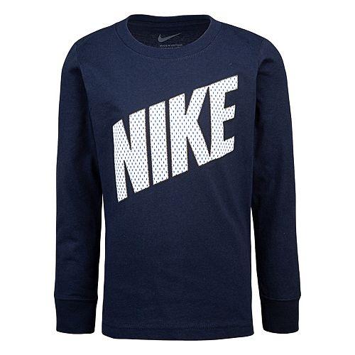 Boys 4-7 Nike Long Sleeve Graphic T-Shirt