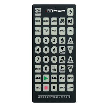 Emerson Jumbo Universal Remote Control
