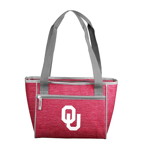 NCAA Oklahoma Sooners Crosshatch 16-Can Cooler Tote