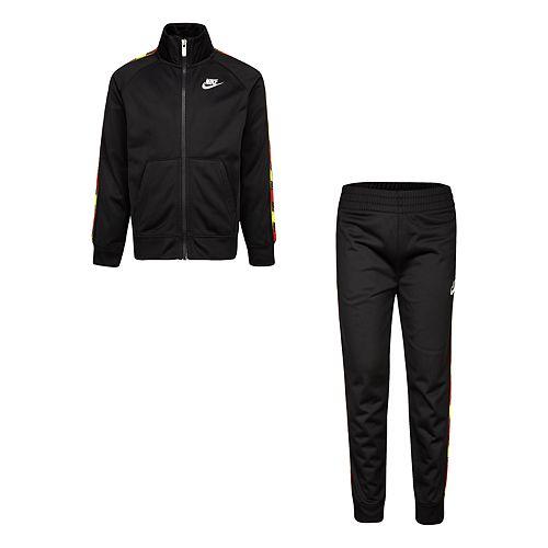 Boys 4-7 Nike Zip Jacket and Jogger 2 Piece Track Set