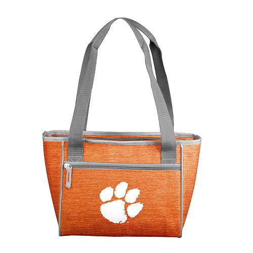 NCAA Clemson Tigers Crosshatch 16-Can Cooler Tote