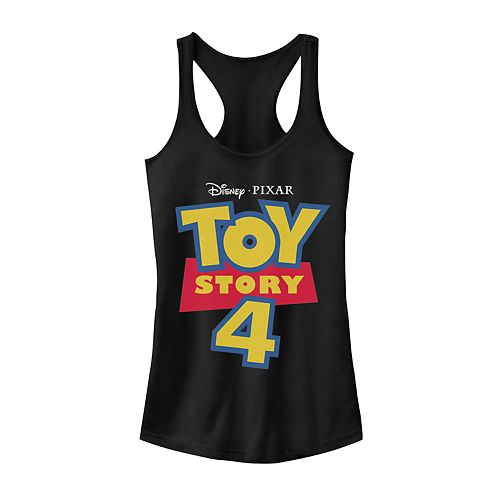 Juniors' Disney Pixar Toy Story 4 Logo Tank