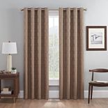 eclipse 2-pack Absolute Zero 100% Blackout Beech Window Curtains