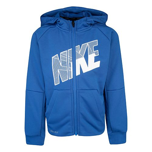 Boys 4-7 Nike Dri-FIT French Terry Full-Zip Hoodie