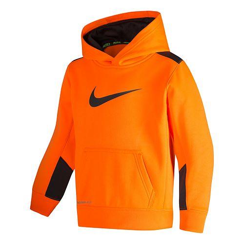 Boys 4-7 Nike Therma Fleece Swoosh Pullover Hoodie