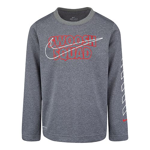 Boys 4-7 Nike Dri-FIT Thermal Long Sleeve Graphic T-Shirt