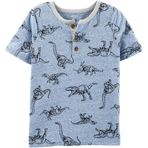 Boys 4-14 Carter's Multi-Dino Short-Sleeve Tee
