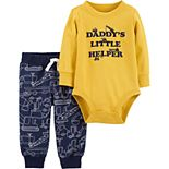 Baby Boy Carter's 2-Piece Construction Bodysuit & Pants Set