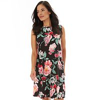 Deals on Apt. 9 Printed Sleeveless Swing Women's Dress