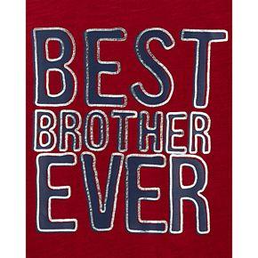 Boys 4-14 Carter's Best Brother Slub Jersey Tee