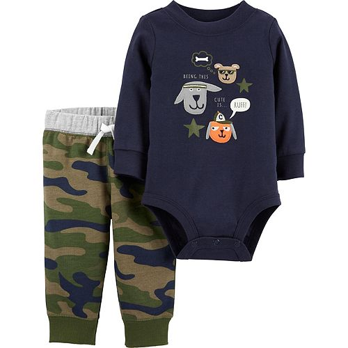 Baby Boy Carter's 2-Piece Dog Bodysuit Pant Set