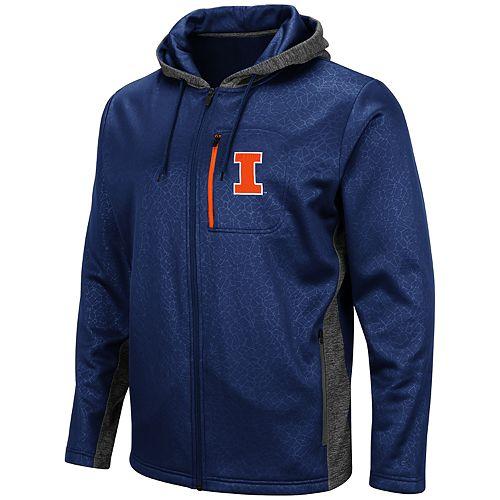 Men's Illinois Fighting Illini Hagues Full-Zip Jacket