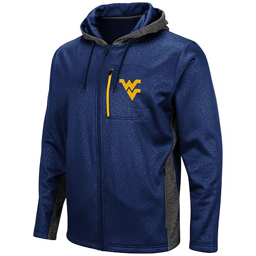 Men's West Virginia Mountaineers Hagues Full-Zip Jacket