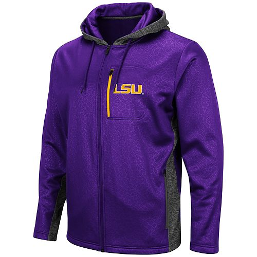 Men's LSU Tigers Hagues Full-Zip Jacket