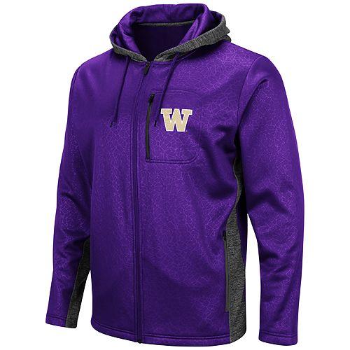 Men's Washington Huskies Hagues Full-Zip Jacket