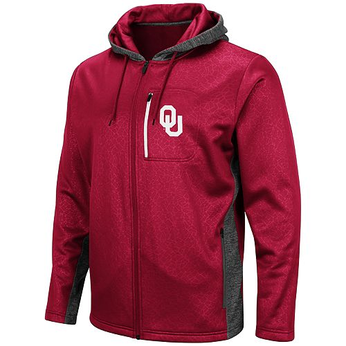 Men's Oklahoma Sooners Hagues Full-Zip Jacket