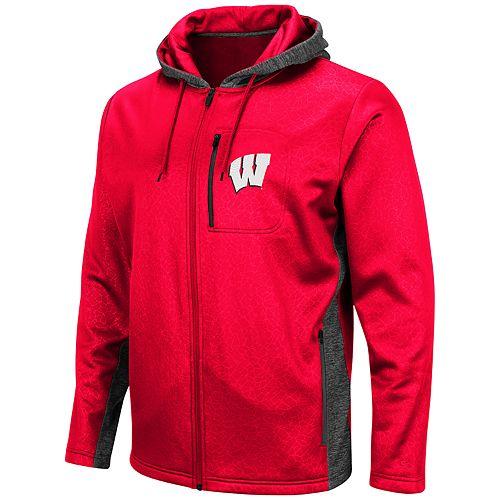 Men's Wisconsin Badgers Hagues Full-Zip Jacket