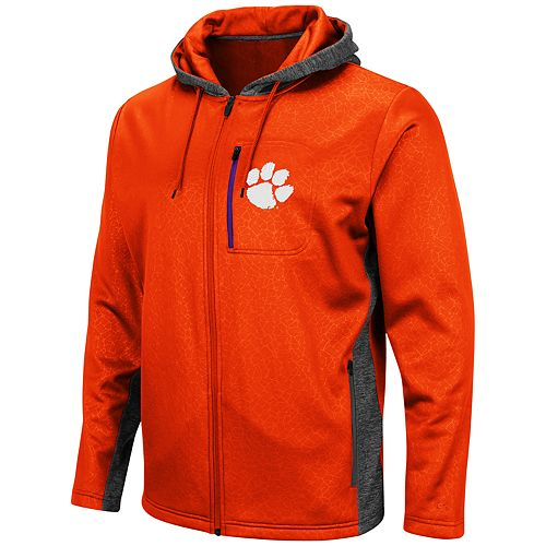 Men's Clemson Tigers Hagues Full-Zip Jacket