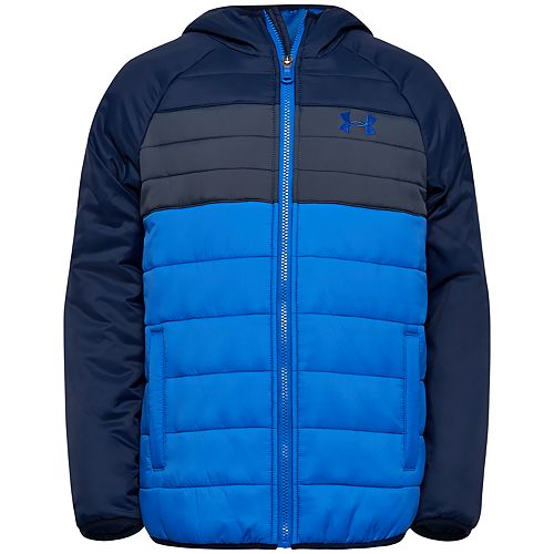 Boys 8-20 Under Armour Pronto Colorblock Puffer Jacket