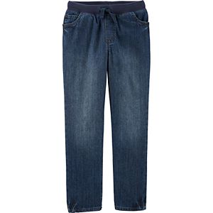 Boys 4-14 Carter's Easy Pull-On Denim Pants