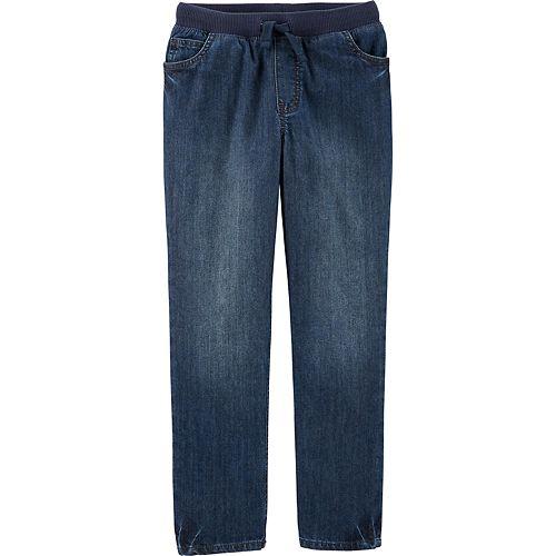 Boys 4-14 Carter's Easy Pull-On Denim Pants