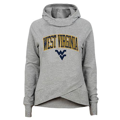Girls 7-16 West Virginia Mountaineers Glam Girl Hoodie