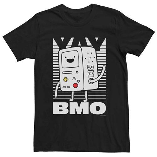 Men's Cartoon Network Adventure Time Yay BMO Tee