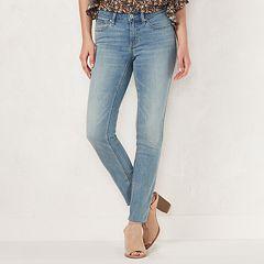3375dc495cb35 Petite LC Lauren Conrad Feel Good Midrise Skinny Jeans