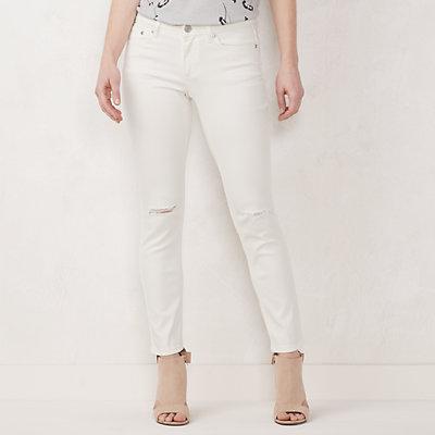 Petite LC Lauren Conrad Feel Good Midrise Skinny Jeans