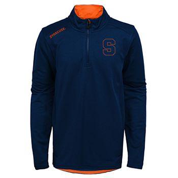 Boys 8-20 Syracuse Orange Quarter-zip Pullover