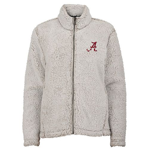 Juniors' Alabama Crimson Tide Sherpa Jacket