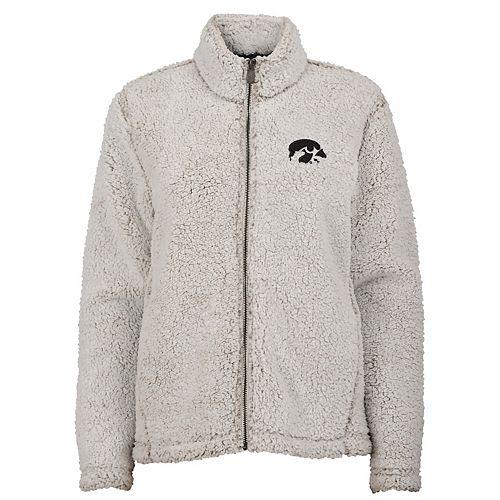 Juniors' Iowa Hawkeyes Sherpa Jacket