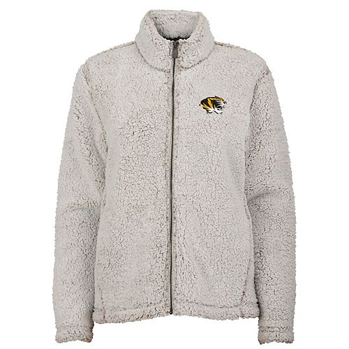 Women's Missouri Tigers Full-Zip Sherpa Jacket