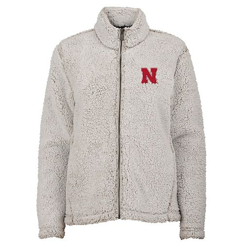 Juniors' Nebraska Cornhuskers Sherpa Jacket