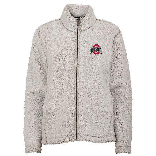 Juniors' Ohio State Buckeyes Sherpa Jacket