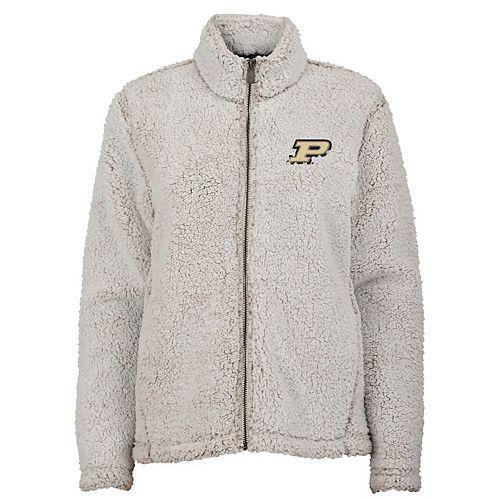 Juniors' Purdue Boilermakers Sherpa Jacket