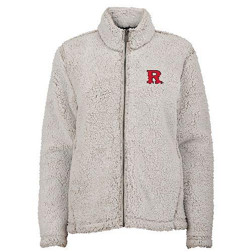 Juniors' Rutgers Scarlet Knights Sherpa Jacket
