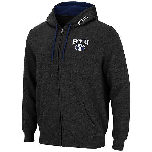 Men's BYU Cougars Full-Zip Hoodie