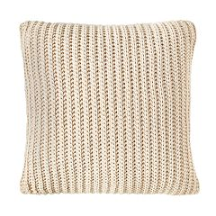 Dream Blue//Off-White 20 x 20 Image by Charlie Dynasty Decorative Pillow