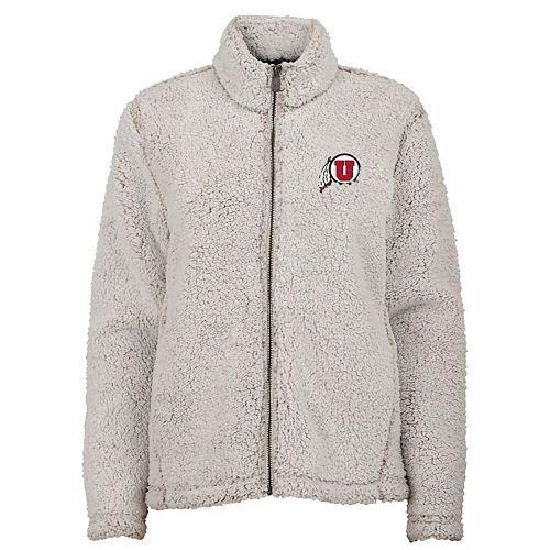 Juniors' Utah Utes Sherpa Jacket