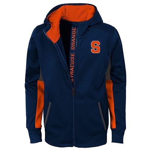 Boys 8-20 Syracuse Orange Full-Zip Fleece Hoodie