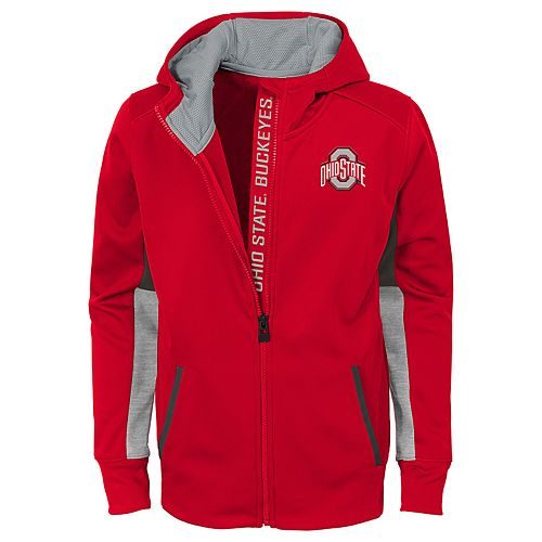 Boys 8-20 Ohio State Buckeyes Full-Zip Fleece Hoodie