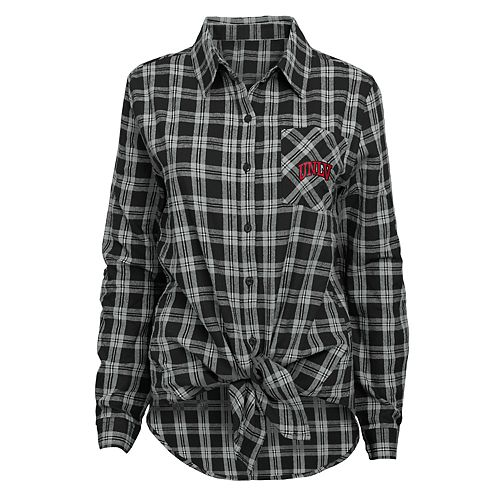 Women's UNLV Rebels Action Plaid Shirt