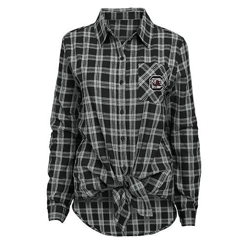 Women's South Carolina Gamecocks Action Plaid Shirt
