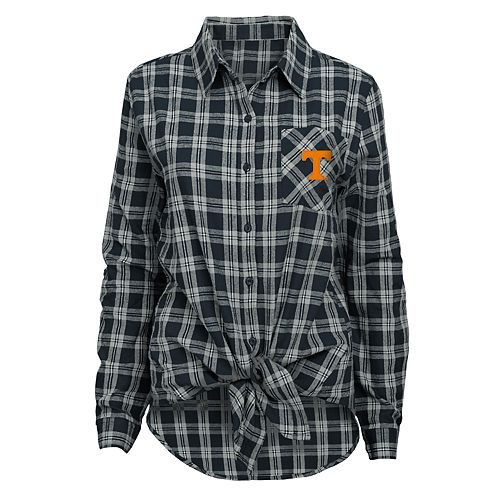 Juniors' Tennessee Volunteers Action Plaid Shirt